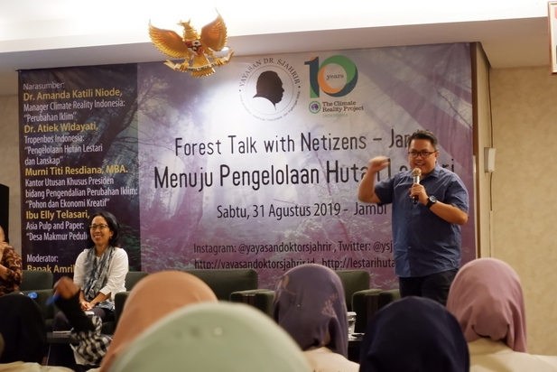 Forest talk with netizen jambi